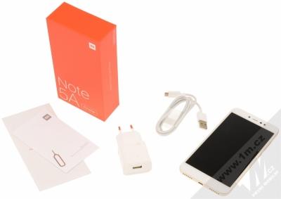 XIAOMI REDMI NOTE 5A PRIME 3GB/32GB Global Version CZ LTE zlatá (gold) balení