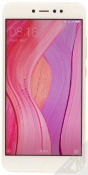 XIAOMI REDMI NOTE 5A PRIME 3GB/32GB Global Version CZ LTE zlatá (gold) zepředu