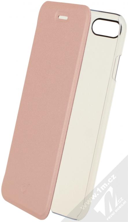 CellularLine Clear Book flipové pouzdro pro Apple iPhone 7 růžová (pink) 125a34d7912