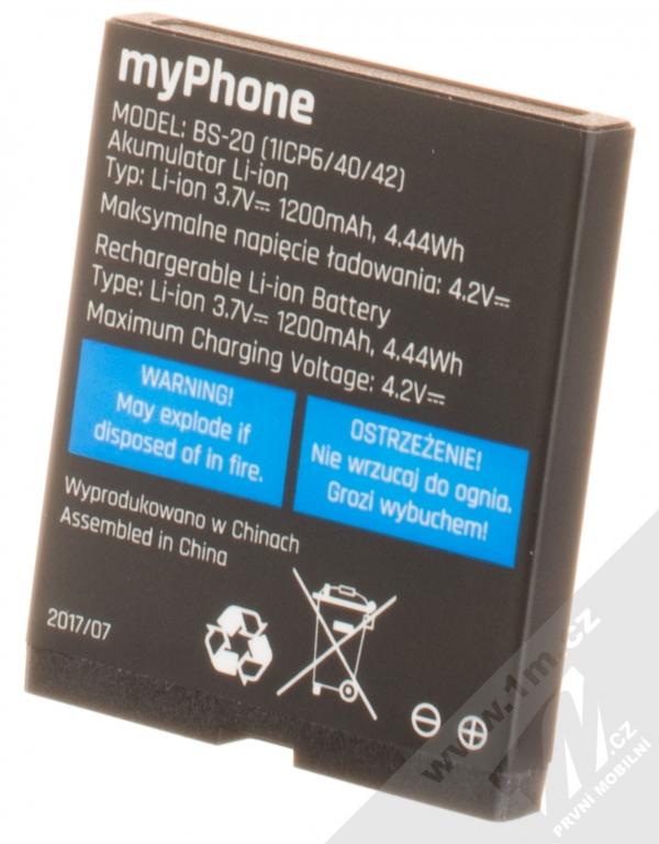 MyPhone BS-20 originální baterie pro MyPhone Hammer Bow Plus  881bb9b39f2