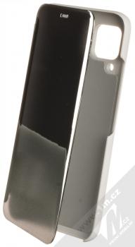 1Mcz Clear View flipové pouzdro pro Huawei P40 Lite stříbrná (silver)