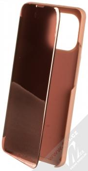 1Mcz Clear View flipové pouzdro pro Xiaomi Mi 11 růžová (pink)