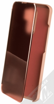 1Mcz Clear View flipové pouzdro pro Xiaomi Redmi 9 růžová (pink)