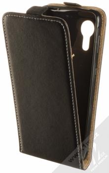 1Mcz Flexi Slim Flip flipové pouzdro pro Samsung Galaxy Xcover 5 černá (black)
