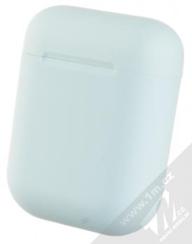 1Mcz i12 inPods Macaron TWS Bluetooth stereo sluchátka světle modrá (light blue) nabíjecí pouzdro