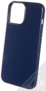 1Mcz Jelly TPU ochranný kryt pro Apple iPhone 13 Pro Max tmavě modrá (navy blue)