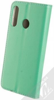 1Mcz Magnet Book flipové pouzdro pro Huawei P30 Lite mátově zelená (mint green) zezadu