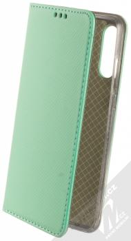 1Mcz Magnet Book flipové pouzdro pro Huawei P30 Lite mátově zelená (mint green)