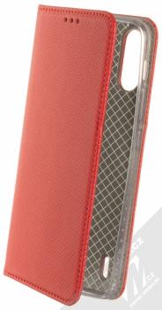 1Mcz Magnet Book flipové pouzdro pro Motorola Moto E7 Power červená (red)