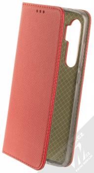 1Mcz Magnet Book flipové pouzdro pro Xiaomi Mi Note 10 Lite červená (red)