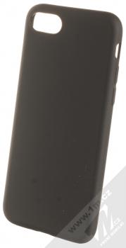 1Mcz Matt TPU ochranný kryt pro Apple iPhone 7, iPhone 8, iPhone SE (2020) černá (black)