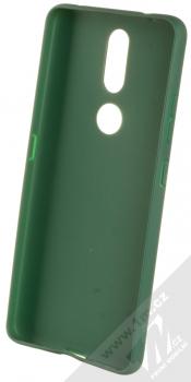 1Mcz Matt TPU ochranný silikonový kryt pro Nokia 2.4 tmavě zelená (forest green) zepředu