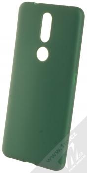 1Mcz Matt TPU ochranný silikonový kryt pro Nokia 2.4 tmavě zelená (forest green)