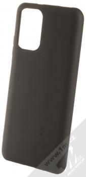 1Mcz Matt TPU ochranný silikonový kryt pro Xiaomi Redmi Note 10, Redmi Note 10S černá (black)
