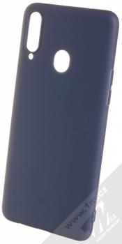 1Mcz Soft TPU ochranný kryt pro Samsung Galaxy A20s tmavě modrá (dark blue)
