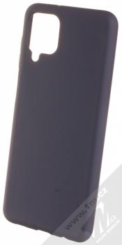 1Mcz Solid TPU ochranný kryt pro Samsung Galaxy A12 tmavě modrá (navy blue)