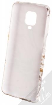 1Mcz Trendy Mramor TPU ochranný kryt pro Xiaomi Redmi Note 9 Pro, Redmi Note 9 Pro Max, Redmi Note 9S bílá zlatá šedá (white gold grey) zepředu