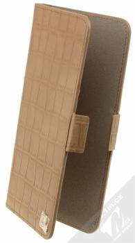 4smarts Ultimag Wallet Norwalk Croco do 5,8 univerzální flipové pouzdro hnědá (brown)