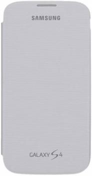 Samsung ENM-EF-FI950BW Mimetica originální flipové pouzdro pro Samsung Galaxy S4, Galaxy S4 LTE-A bílá (white)