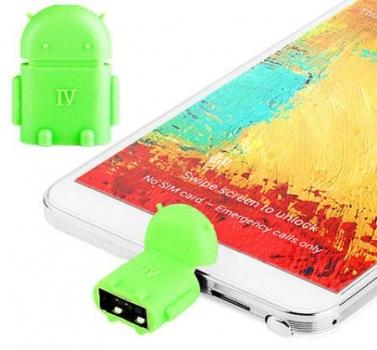Aligator OTG Android robot použití