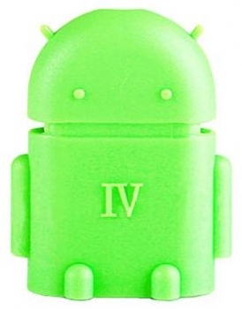 Aligator OTG Android robot zepředu