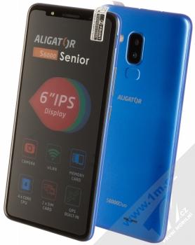 Aligator S6000 Senior modrá (blue)