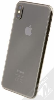 APPLE iPHONE X 64GB šedá (space gray) šikmo zezadu