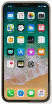 APPLE iPHONE X 64GB šedá (space gray) zepředu