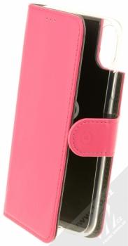 Celly Wally flipové pouzdro pro Apple iPhone X růžová (pink)