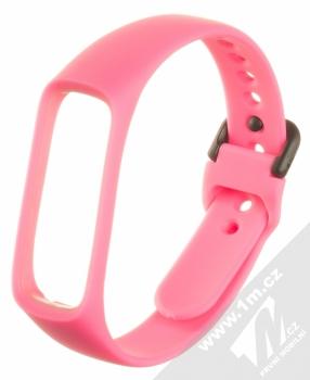 Devia Deluxe Sport Band silikonový pásek na zápěstí pro Samsung Galaxy Fit e růžová (pink)