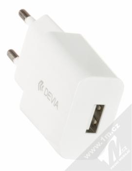 Devia Luxury Charging Suit nabíjecí set nabíječek, USB kabelů a držáku bílá (white) nabíječka do sítě USB konektor