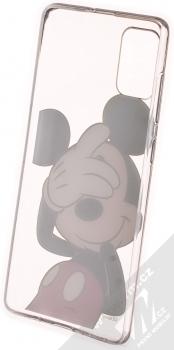 Disney Mickey Mouse 003 TPU ochranný kryt pro Samsung Galaxy A71 průhledná (transparent) zepředu