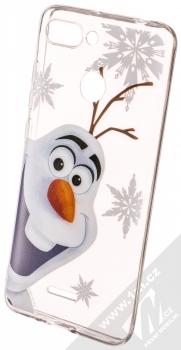 Disney Olaf 002 TPU ochranný silikonový kryt s motivem pro Xiaomi Redmi 6 průhledná (transparent)