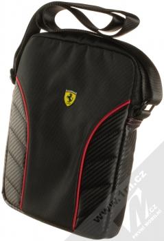 Ferrari Scuderia Nylon Carbon Tablet Book pouzdro brašna pro tablet do 10 palců (FESRBSH10BK) černá (black)