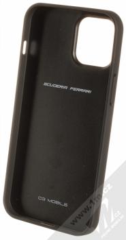 Ferrari Scuderia Perforated Leather ochranný kryt pro Apple iPhone 12 Pro Max (FESPEHCP12LBK) černá (black) zepředu