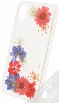 Flavr iPlate Real Flowers Amelia ochranný kryt s pravými květy pro Apple iPhone X průhledná (transparent)