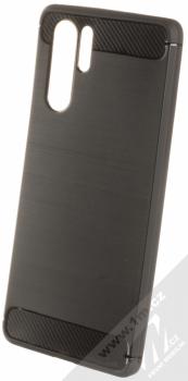 Forcell Carbon ochranný kryt pro Huawei P30 Pro černá (black)