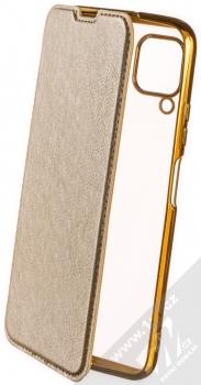 Forcell Electro Book flipové pouzdro pro Huawei P40 Lite zlatá (gold)