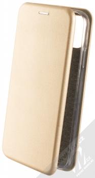 Forcell Elegance Book flipové pouzdro pro Apple iPhone 11 zlatá (gold)