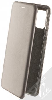 Forcell Elegance Book flipové pouzdro pro Samsung Galaxy A51 kovově šedá (steel)