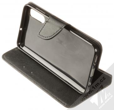 Forcell Fancy Book flipové pouzdro pro Samsung Galaxy A50 černá (black) stojánek