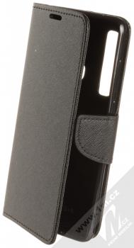 Forcell Fancy Book flipové pouzdro pro Samsung Galaxy A9 (2018) černá (black)