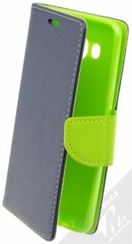 Forcell Fancy Book flipové pouzdro pro Samsung Galaxy J5 (2016) modro limetkově zelená (blue lime)