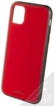 Forcell Glass ochranný kryt pro Apple iPhone 11 červená (red)