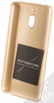 Forcell Jelly Matt Case TPU ochranný silikonový kryt pro Nokia 2.1 zlatá (gold) zepředu