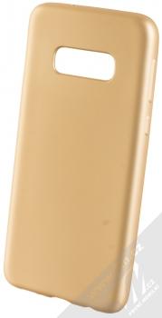 Forcell Jelly Matt Case TPU ochranný silikonový kryt pro Samsung Galaxy S10e zlatá (gold)