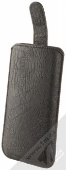 Forcell Kora 2 velikost 3XL pouzdro kapsička pro mobilní telefon, mobil, smartphone černá (black) otevřené