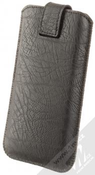 Forcell Kora 2 velikost 3XL pouzdro kapsička pro mobilní telefon, mobil, smartphone černá (black) zezadu