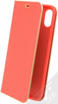 Forcell Luna flipové pouzdro pro Apple iPhone X červená (red)