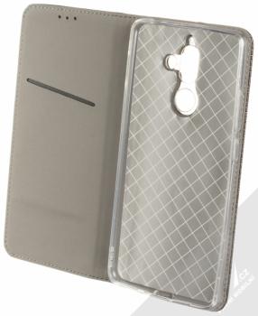 Forcell Smart Book flipové pouzdro pro Nokia 7 Plus černá (black) otevřené